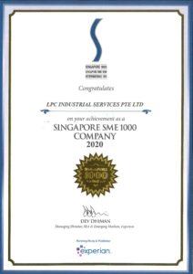 SIN SME 1000 Company 2020 LPC