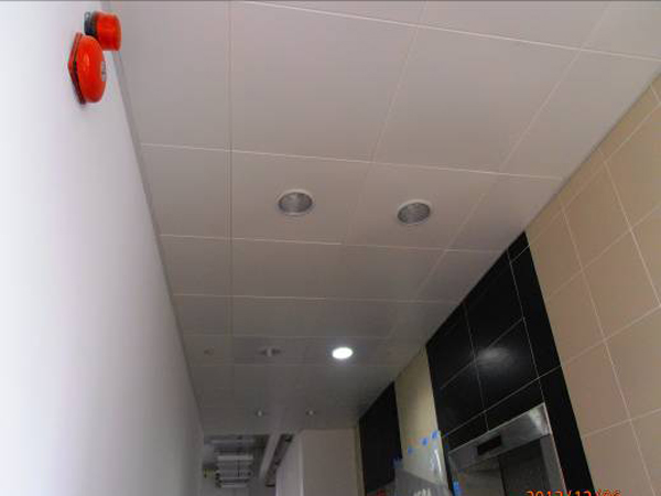 Site Photos for Aluminium Ceiling @ Lift Lobby2