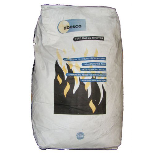 Fire Rated Mortar : Abesco fire rated mortar lpc