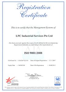 ISO 9001 2008 Expiry 6Aug2018