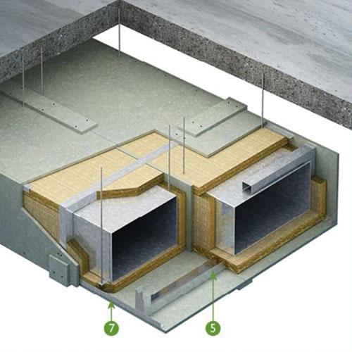 Ventilators Industrial Fire : Soben firepro fp fire rated ventilation steel duct lpc